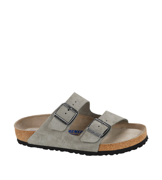 Arizona Soft Footbed Stone Suede