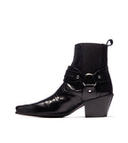 Austin Black Leather Boot