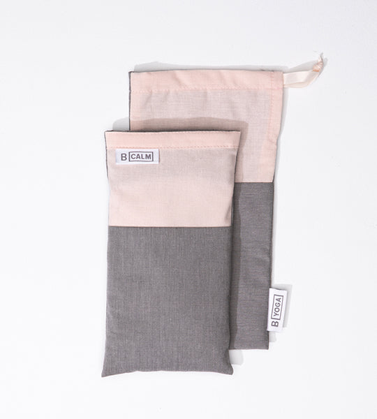 B Calm Pink Eye Pillow with Storage Bag