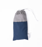 B Calm Blue Eye Pillow with Storage Bag