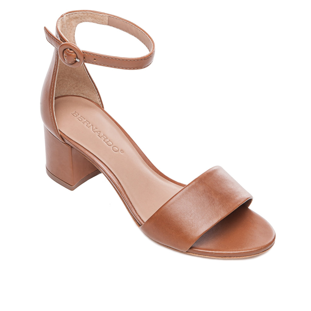 Belinda Luggage Block Heel Sandal