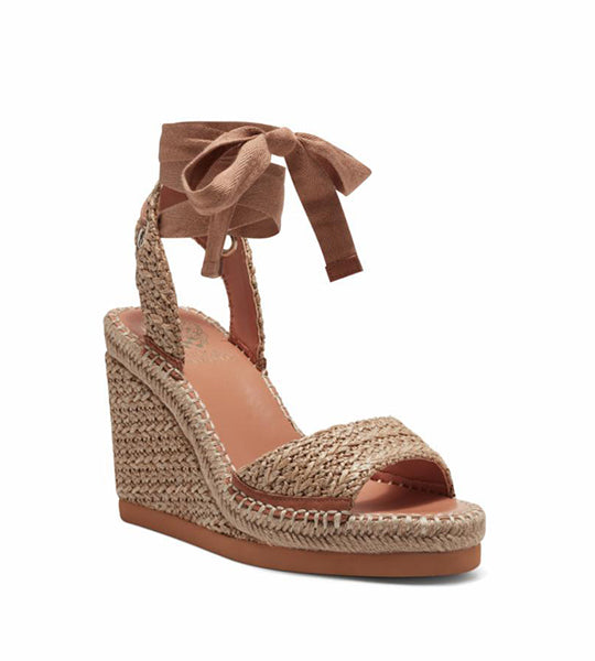 Bendsend Espadrille Wedge - Natural