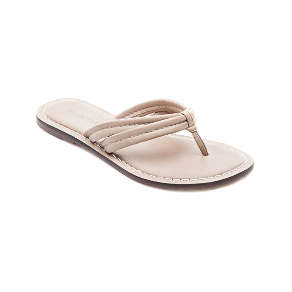 Miami Blush Leather Flip Flop