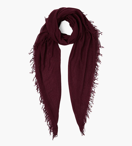 Fig Cashmere And Silk Scarf