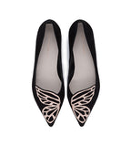 Bibi Butterfly Flat Black & Gold