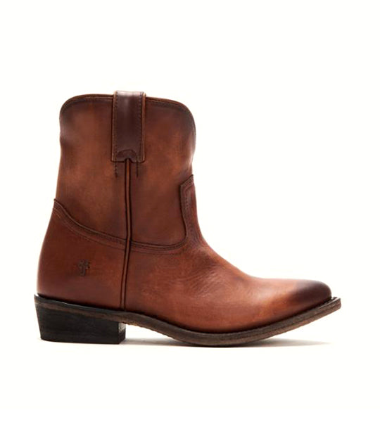 Billy Short Boot in Cognac