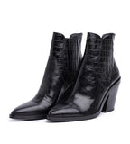 Sabana Too Croco Boot Black