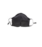Cotton Mask with Elastic - Black