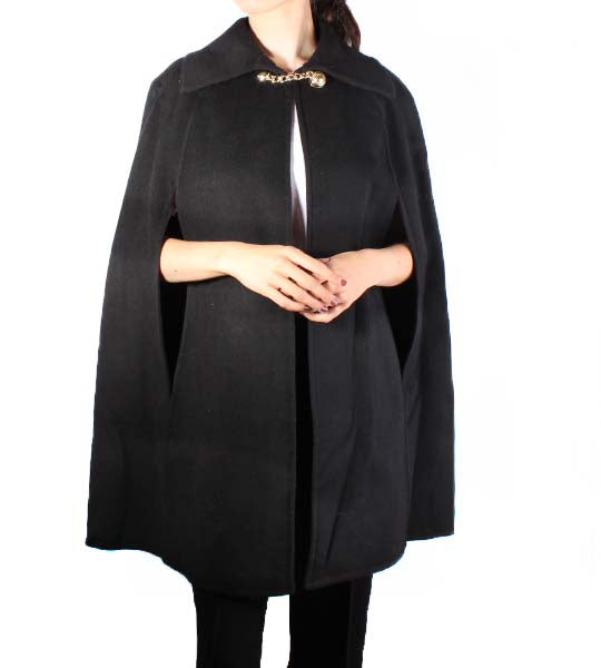 Short Double Faced Cape
