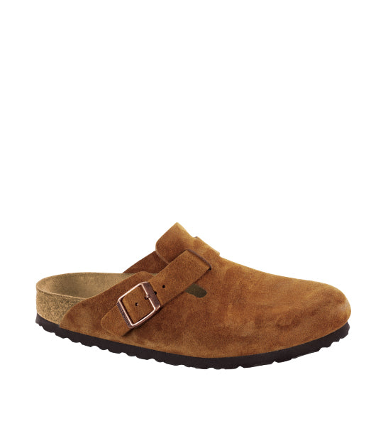 Boston Soft Footbed Mink Suede