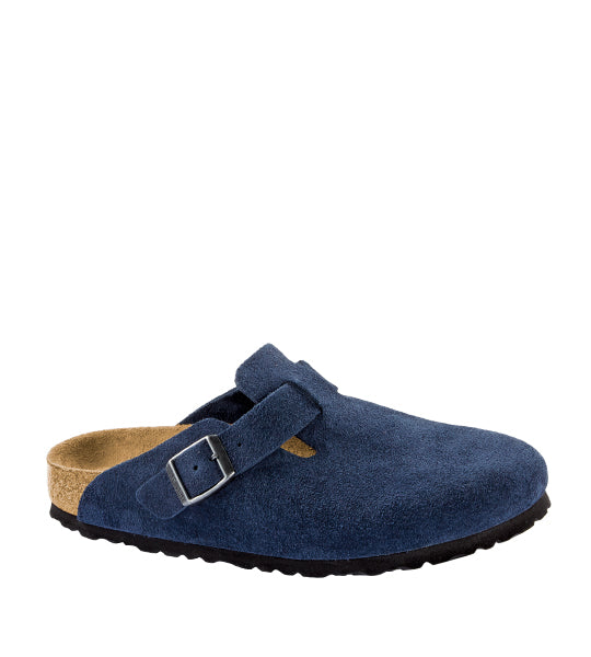 Boston Soft Footbed Navy Suede