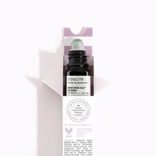 Aventurine Kiss Lip Serum - Vitamin C + CoQ10