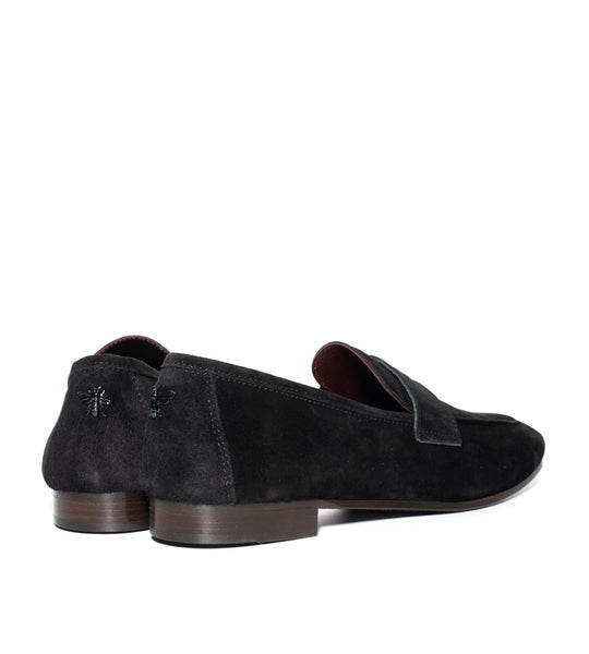 Suede Loafer Black - EXCLUSIVE