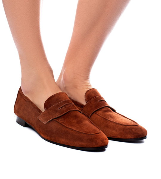 Suede Loafer Brandy - EXCLUSIVE