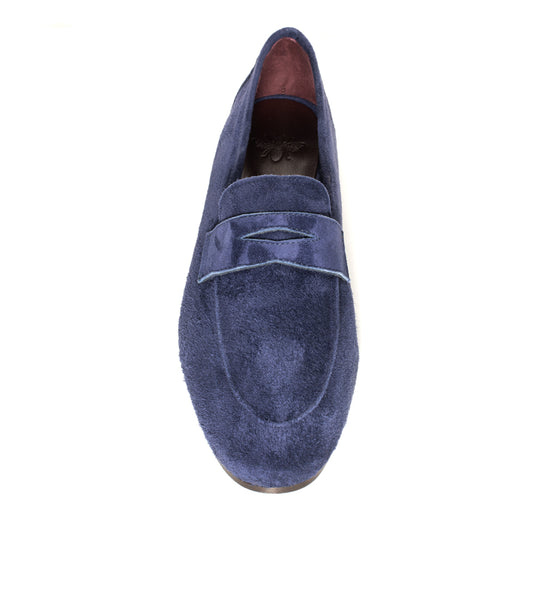 Suede Loafer Navy - EXCLSUIVE