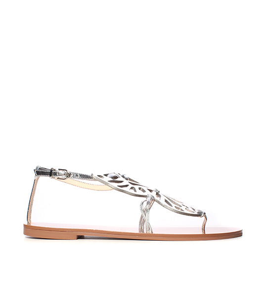 Metallic Butterfly Sandal