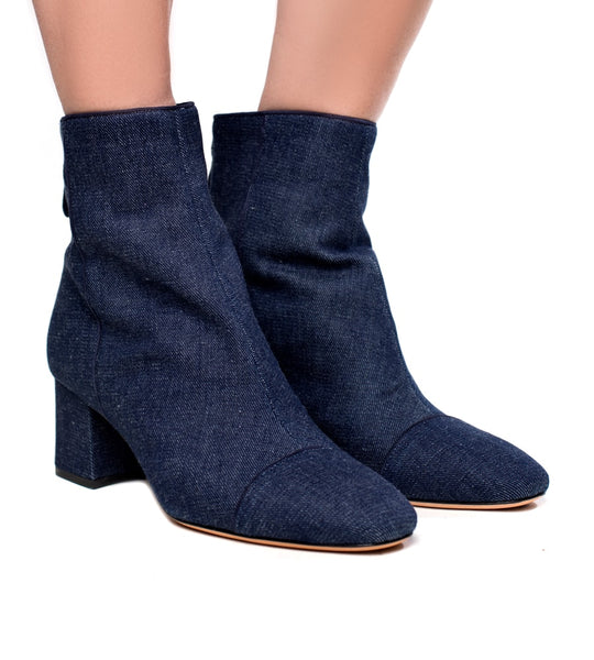 Alexandre Birman Jessy Boot Denim