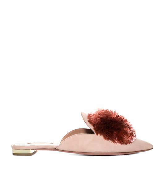 Aquazzura Powder Puff Mule - TheSeptember.com