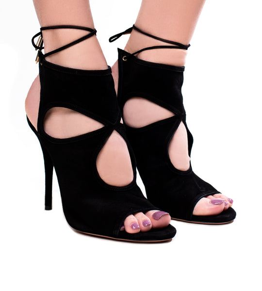 AQUAZZURA SEXY THING BLACK
