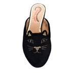 Charlotte Olympia Terry Cloth Kitty Mule - TheSeptember.com