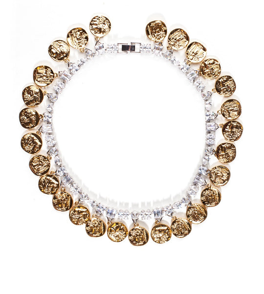 Fallon Jagged Mykonos Collar - TheSeptember.com