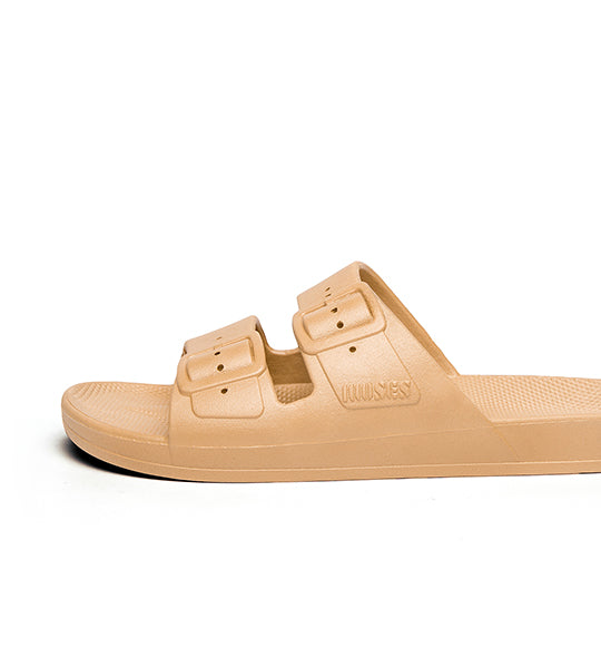 Two-Strap Sandal Camel