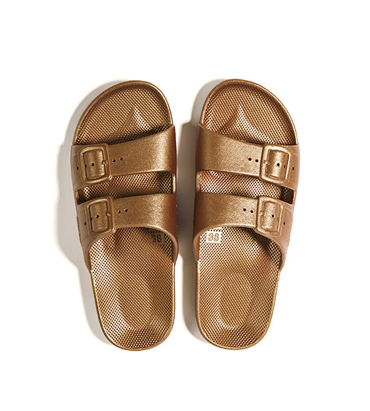 Two-Strap Sandal Copper