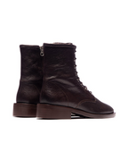 Cabrini Laceup Ankle Boot - Dark Brown