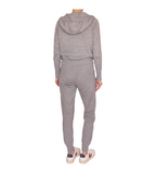 Farrah Cashmere Two Piece Lounge Set - Light Grey
