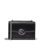 Monogramme Small Quilted Leather Chain Shoulder Bag