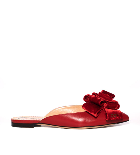 Charlotte Olympia Coquetta Mule - TheSeptember.com