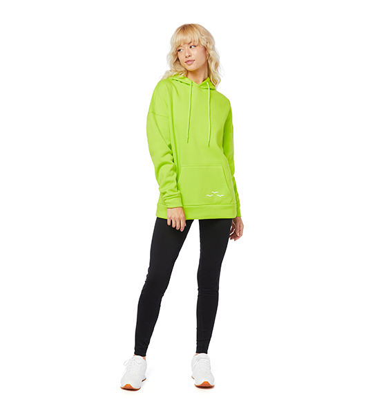 Cooper Ultra Soft Hoodie - Green Fluo