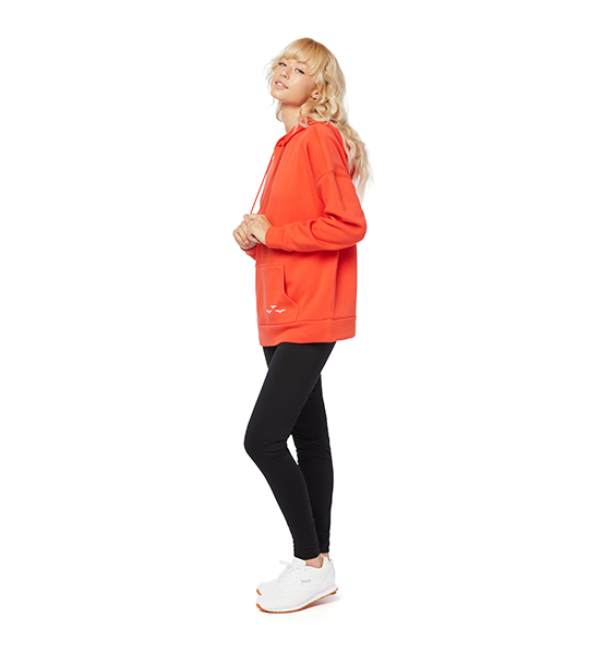 Cooper Ultra Soft Hoodie - Orange