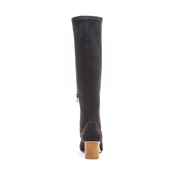 Dea Knee High Boot Black