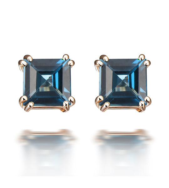 Sophia London Blue Topaz Earrings