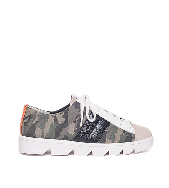 Dakota Camo Canvas Sneakers