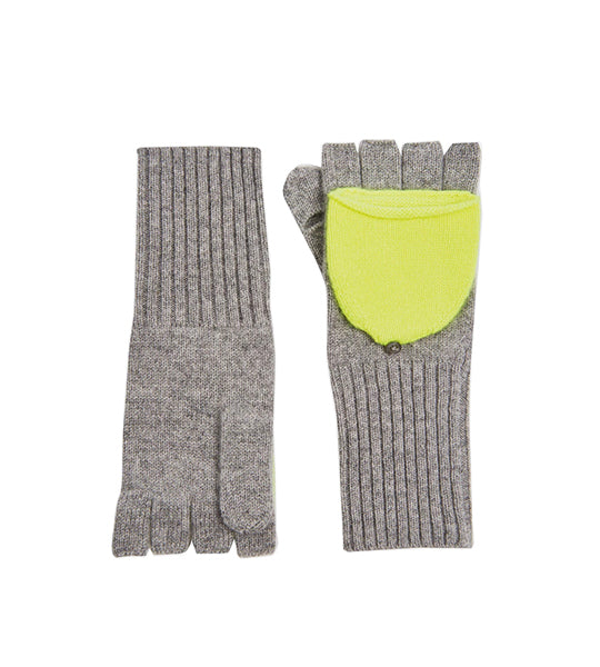Pop Top Glove - Grey Heather/ Neon Pineapple