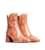 Devonshire Natural Snake Leather Boot