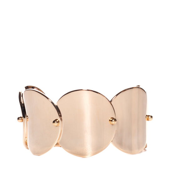 Wide Pinned Paillette Cuff