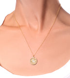 Fallon Capricorn Necklace - TheSeptember.com
