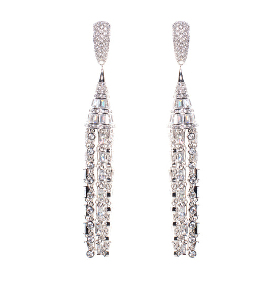 Fallon Deco Tuile Earrings - TheSeptember.com