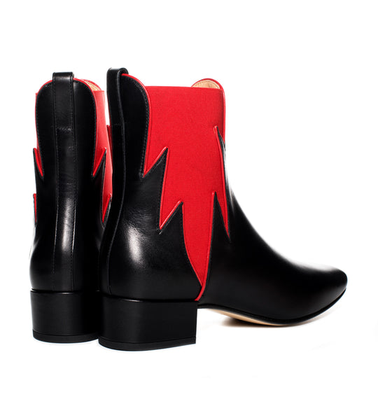 Francesco Russo Flame Chelsea Boot - TheSeptember.com