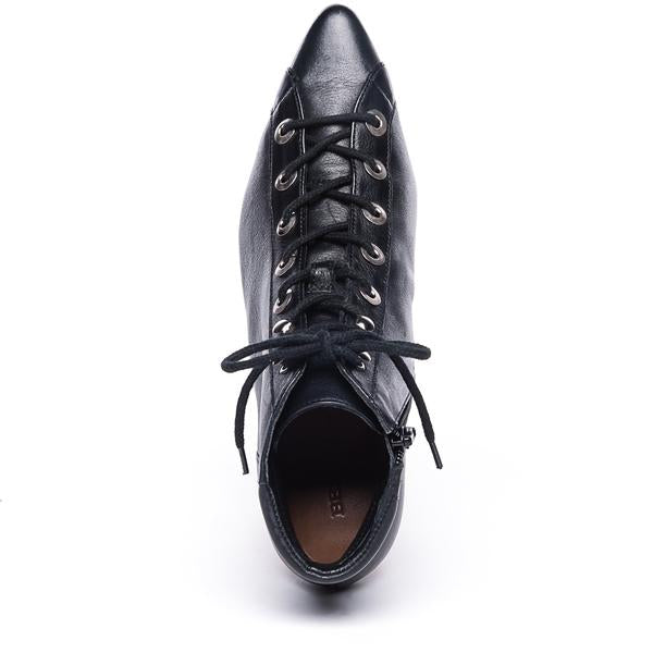 Francie Lace-Up Leather