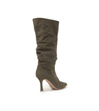 Grecia Slouchy Knee High Boot Moss