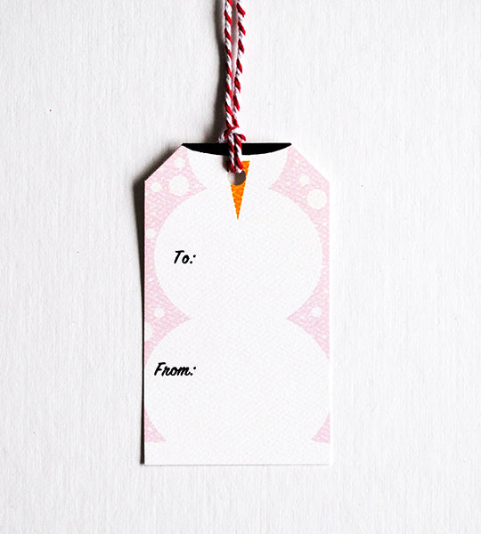 Pastel Powder Gift Tags