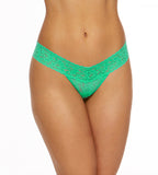 Low Rise Thong Agave Green
