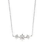 Icon Triple Starburst Necklace