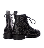 Cruz Star Stud Lace-Up Boot