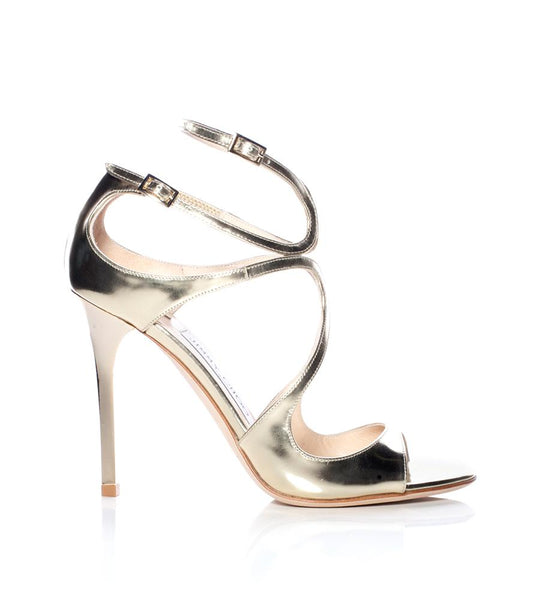 Lang Mirrored Leather Sandal