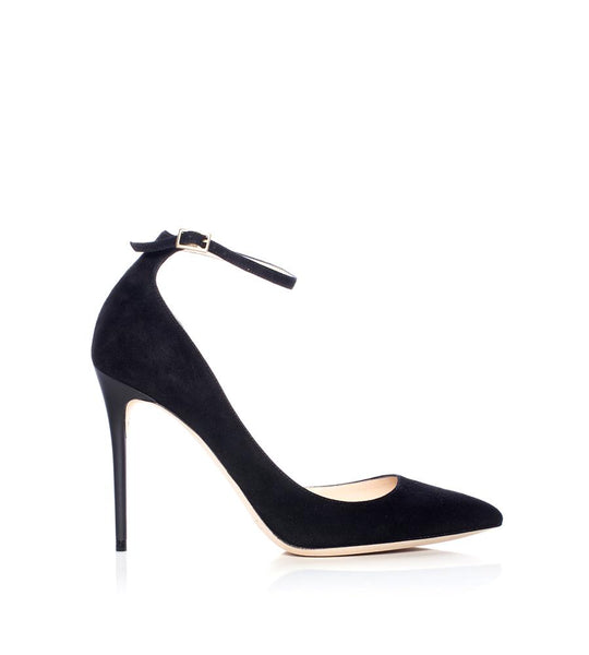 Jimmy Choo Lucy Ankle Strap Pump - TheSeptember.com